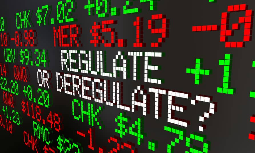 Regulate or Deregulate Financial system