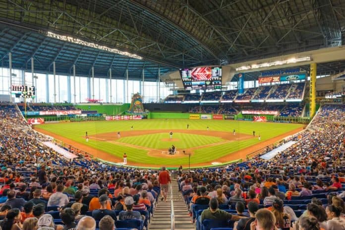 MLB Miami Marlins Stadium