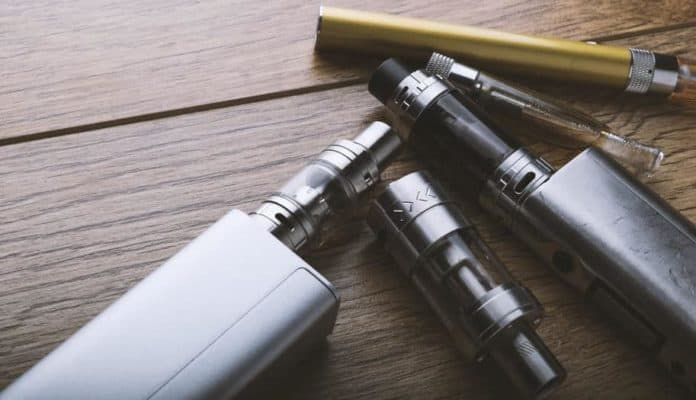 vaping and e-cig devices