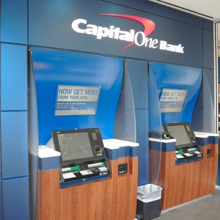 Capital One ATMs