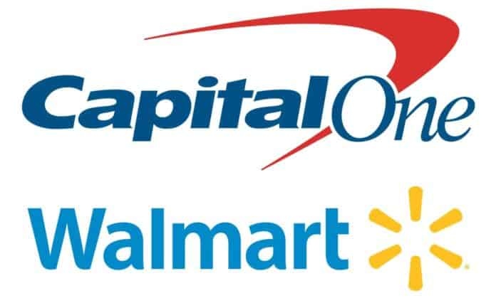 Capital One and Walmart Logo