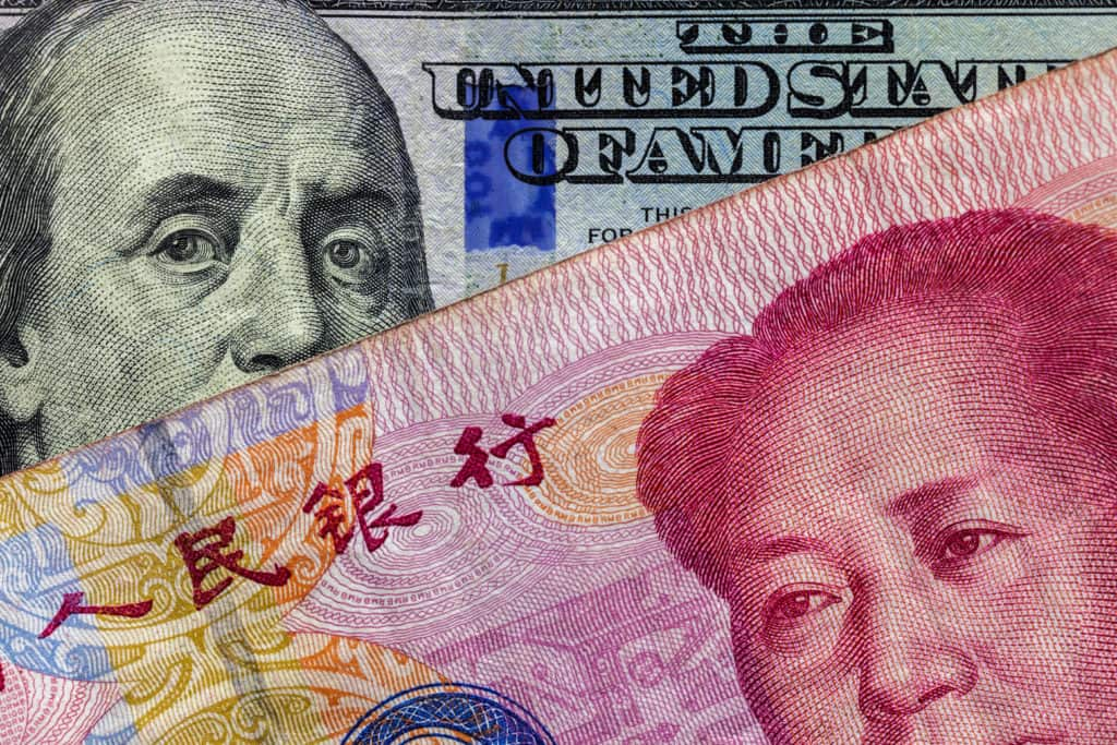 USD Yuan currency